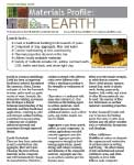 Material Profile – Earth