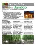 Material Profile – Bamboo