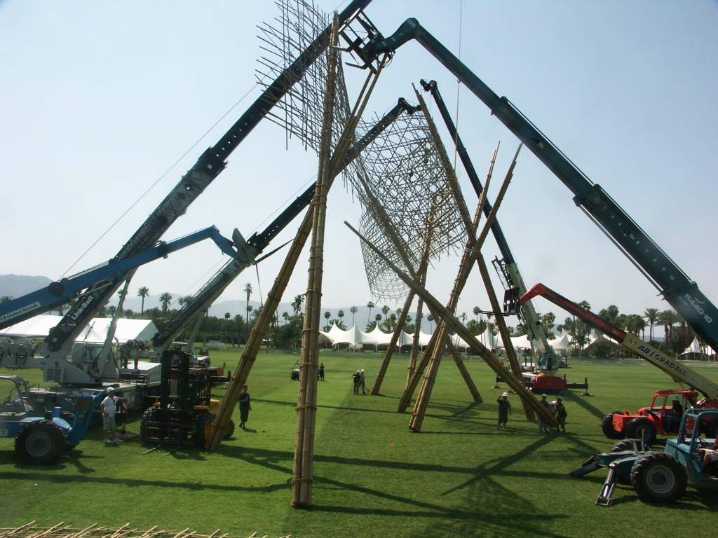 Riding the bamboo wave – Coachella Music and arts festival